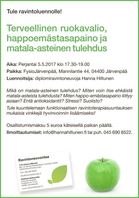Ravintoluento Järvenpää happoemäs 5.5