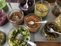 Salaatti buffet 2