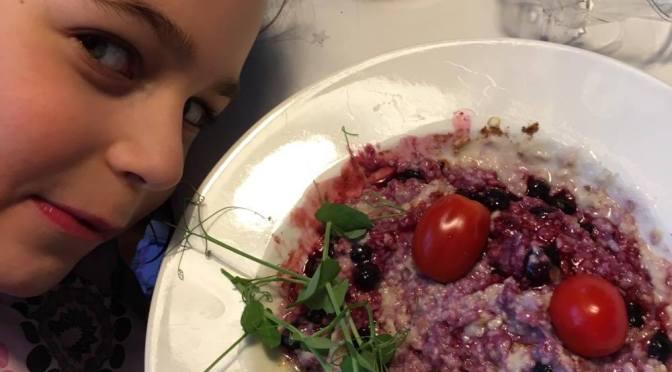 …mutta miten ne pienet lapset saataisiin syömään kasviksia?