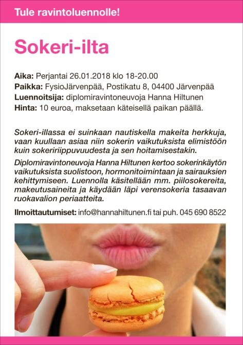 Ravintoluento Järvenpää sokeri -ilta 26.1.2018.indd